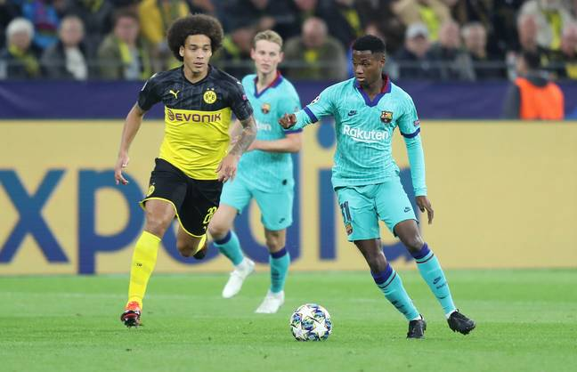Ansu Fati has has made his mark on the Barcelona squad aged 17. (Image Credit: PA)