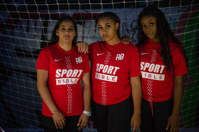The Rising Ballers women's team launched three months ago