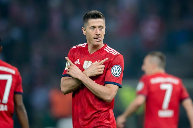 Lewandowski is currently the best in the world. Image: PA Images