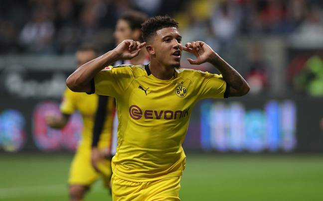 Sancho's had a lot more first team action than the man who might have been his teammate. Image: PA Images