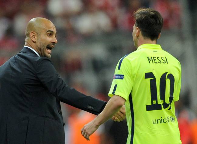 Messi could be reunited with Guardiola. Image: PA Images