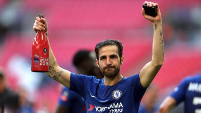 Fabregas is on his way out of Chelsea. Credit: PA