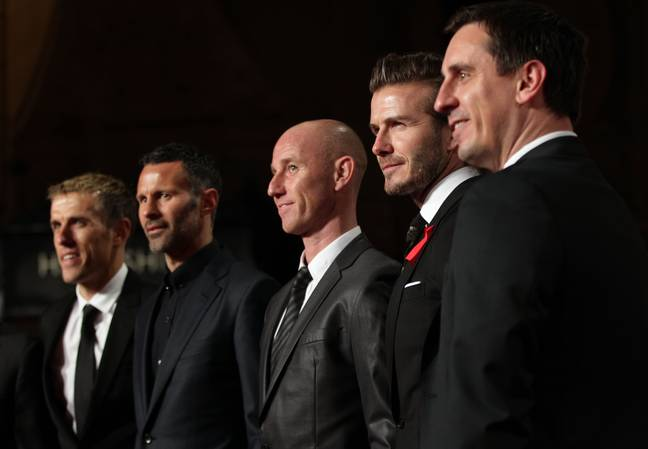 The Class of 92 can be quite prominent in the media now. Image: PA Images