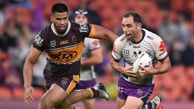 Cameron Smith. Credit: Melbourne Storm / Twitter
