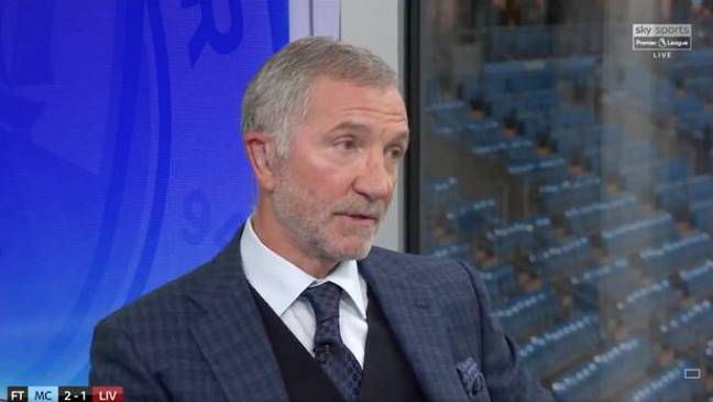 Souness comes under a lot of criticism. Image: Sky Sports
