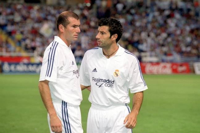 Zidane's move to Real Madrid was the most expensive transfer for eight years, when Real signed Kaka. Image: PA Images