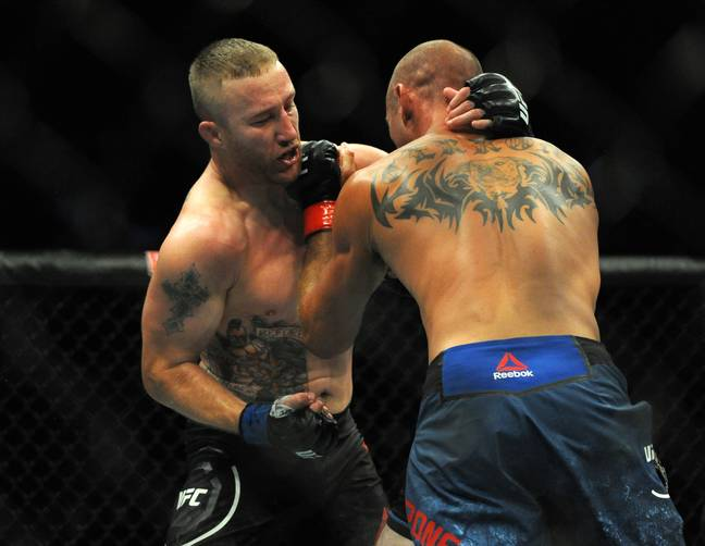 Justin Gaethje - who recently KO'd Donald 'Cowboy' Cerrone - said he'd love to take on McGregor. Credit: PA