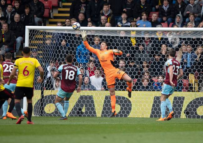 Pope's been brilliant in the absence of Heaton. Image: PA Images