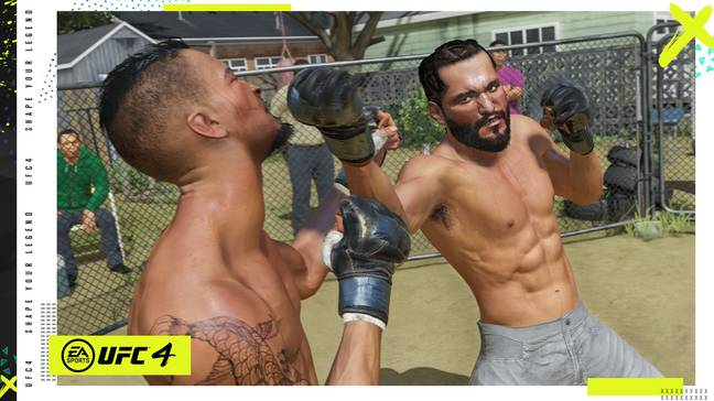 Images: EA Sports UFC 4