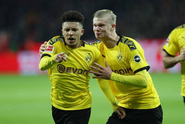 Sancho has scored 27 goals in 69 league appearances for Dortmund, nice stats. Image: PA Image