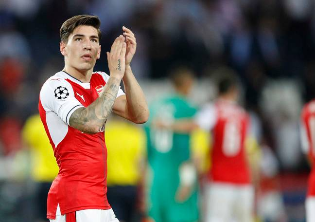 Could Bellerin move to Old Trafford? Image: PA Images
