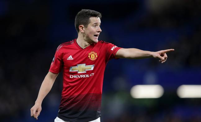 Ander Herrera looks likely to join PSG. Image: PA Images