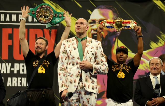 Tyson Fury emphatically stopped hard-hitting Deontay Wilder back in February 2020 to claim the WBC and Ring Magazine titles