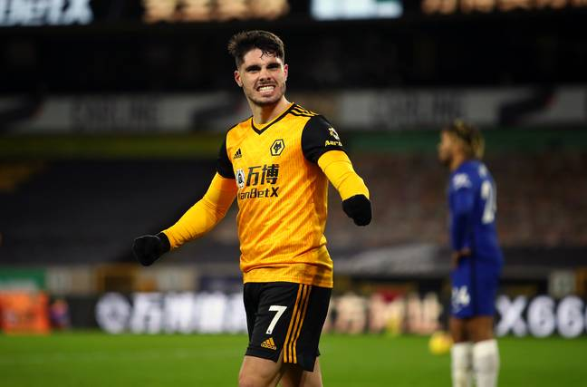 Pedro Neto has been a shining light for Wolves. Image: PA Images