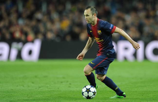 Iniesta made over 650 appearances for Barcelona. Image: PA Images