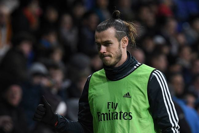 Bale has never been loved at Real. Image: PA Images