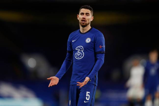 Jorginho has been booked in each of the last three matches that he has started against the Foxes