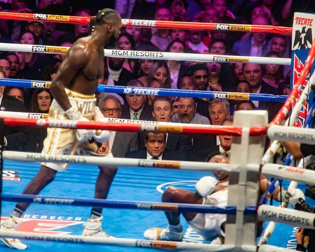 Wilder knocks out Ortiz. Image: PA Images