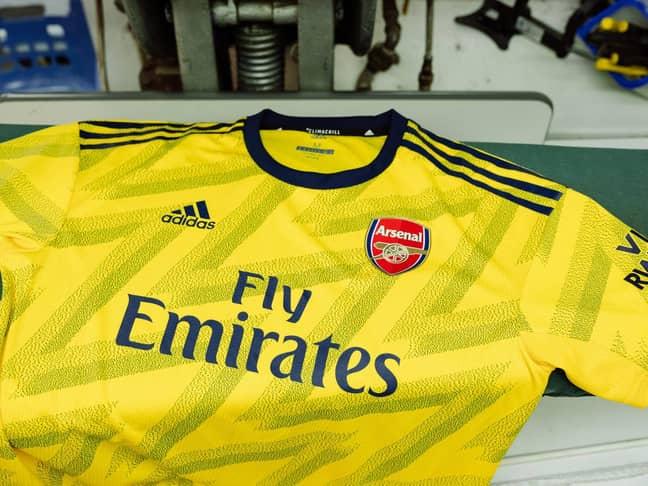 Arsenal's away kit for next season. Image: Adidas