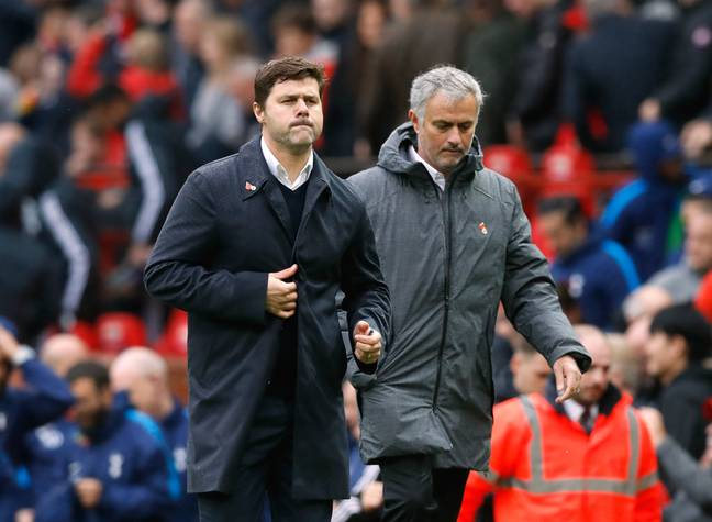 Mourinho has now replaced Pochettino at Spurs after a poor time at United. Image: PA Images