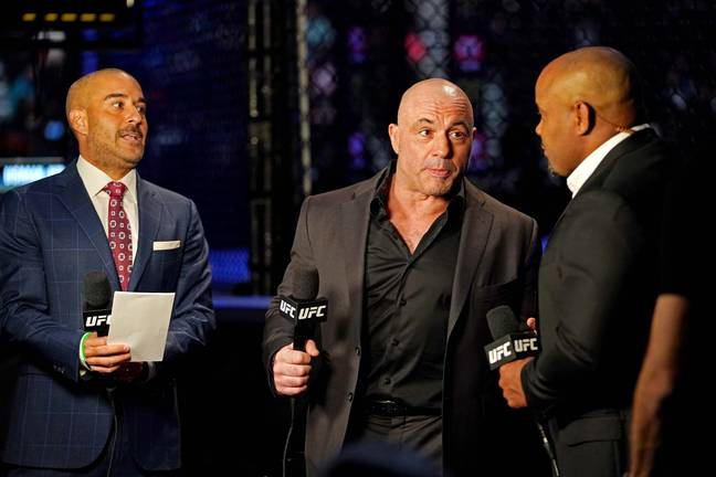 UFC commentator Joe Rogan. Credit: PA
