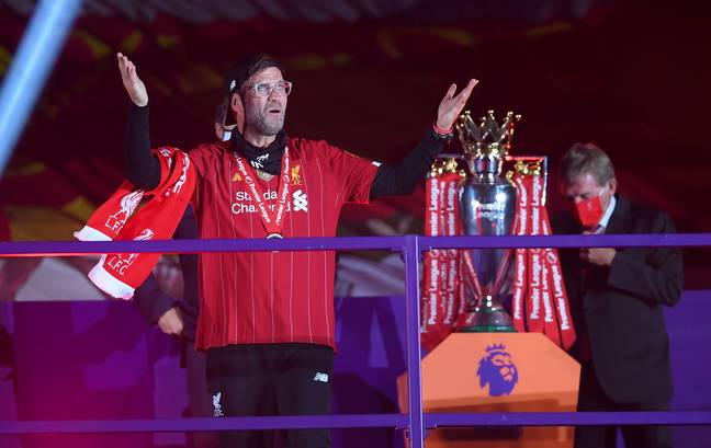 Liverpool still would have been ahead without last season's triumph. Image: PA Images
