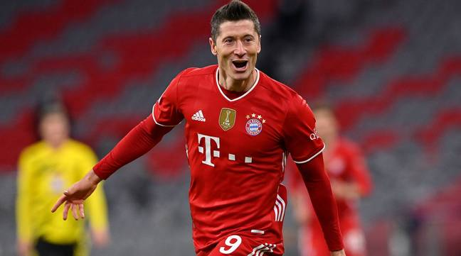 Robert Lewandowski scored a staggering 41 goals in the Bundesliga this season