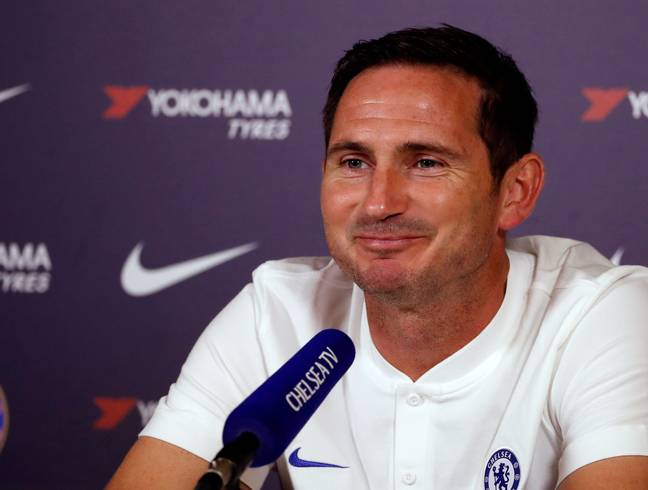 Lampard is extremely happy to be in the role at Chelsea. Image: PA Images