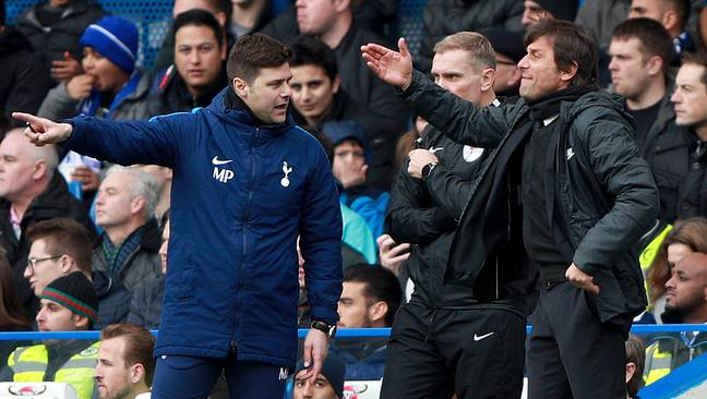 Mauricio Pochettino and Antonio Conte are the leading contenders to be next permanent manager at Spurs