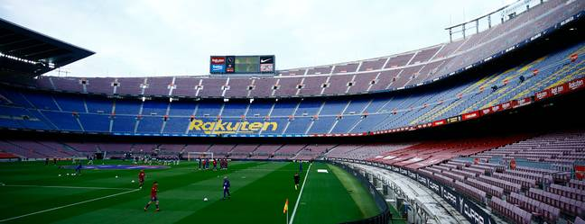 The Nou Camp could be torn down. Image: PA Images