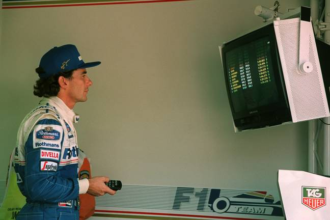 Ayrton Senna. Credit: PA