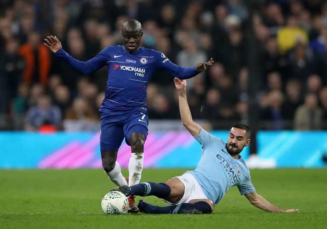 Ilkay Gundogan admits that N'Golo Kante has given him nightmares in midfield