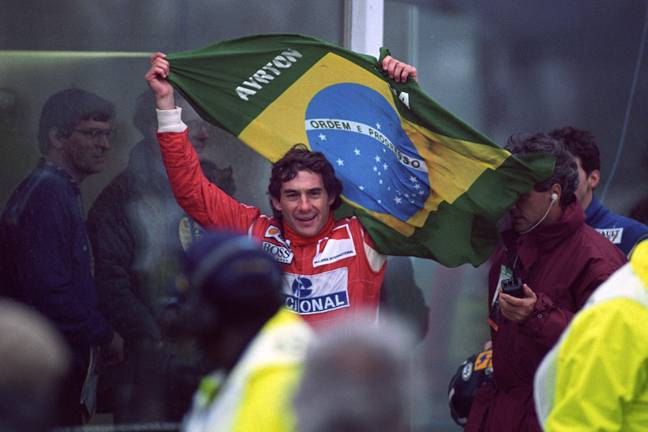 Ayrton Senna is officially the quickest F1 driver over the last 40 years. Credit: PA