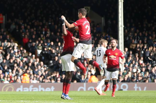 Pogba and Herrera have built a decent partnership in the centre of midfield. Image: PA Images
