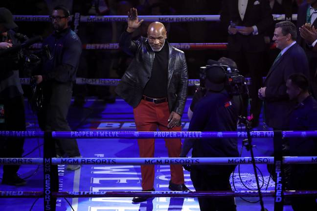 Iron Mike at the MGM Grand earlier this year. Image: PA Images