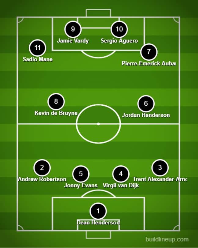 Shearer's Premier League XI. Image: buildlineup.com