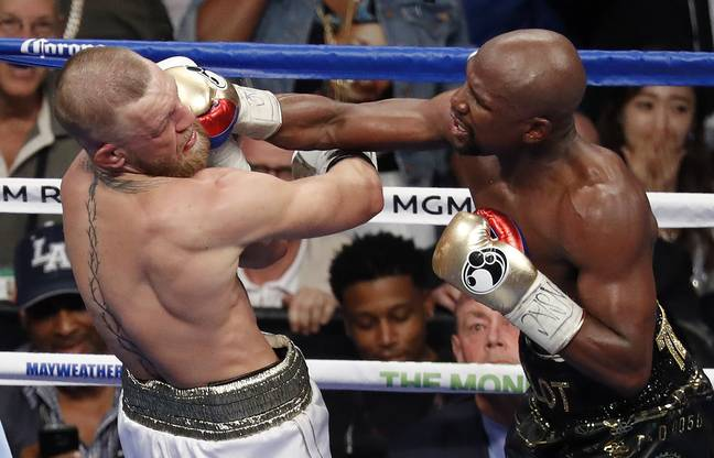 Mayweather was unsurprisingly dominant against McGregor. Image: PA Images