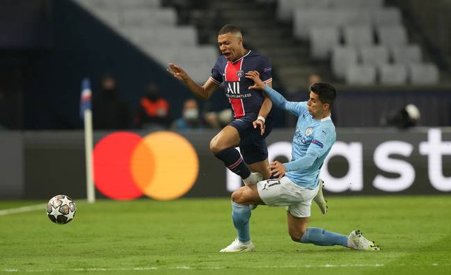 PSG forward Kylian Mbappe is doubtful for the match