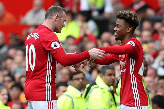 Gomes replaced Rooney for his first appearance. Image: PA Images