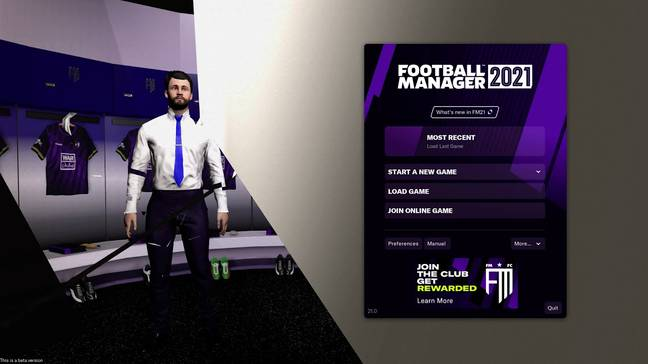 Image: Football Manager 2021