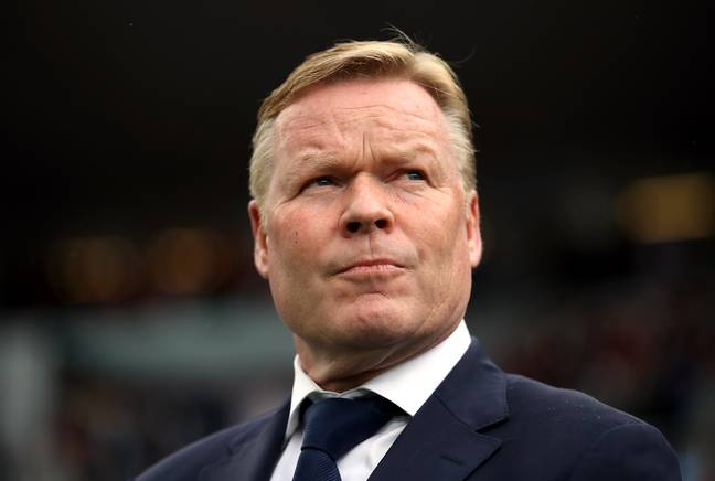Koeman is expected to become Barcelona boss soon. Image: PA Images