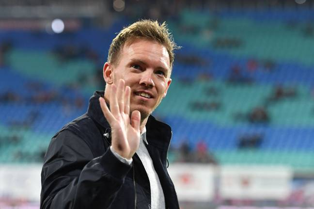 Nagelsmann will be joining Bayern in the summer. Image: PA Images