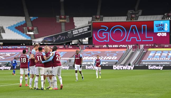 Corden's West Ham could beat three members of the 'Big Six' to a top four finish this season. Image: PA Images