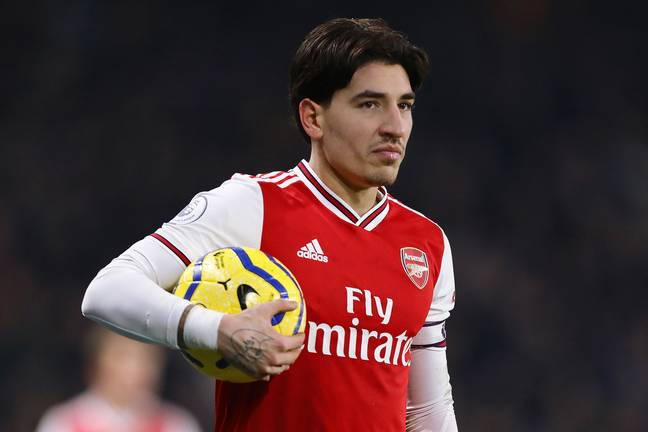 Bellerin could move to back to Barcelona. Image: PA Images