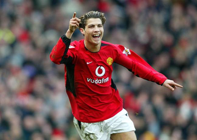 Ronaldo impressing in the early days at Old Trafford. Image: PA Images