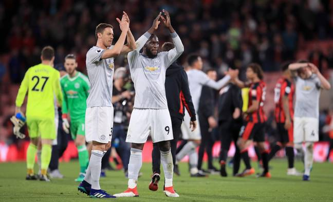 Lukaku and Matic were Mourinho's two most loyal servants. Image: PA Images