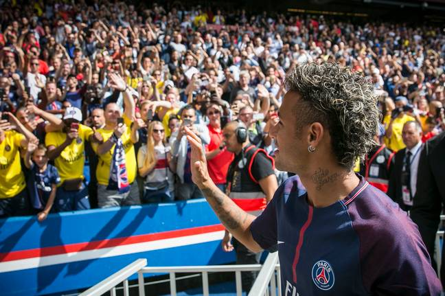 Neymar's departure clearly scared Barca. Image: PA Images