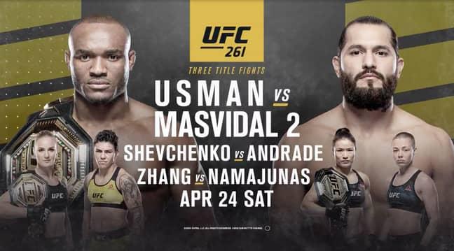Credit: UFC / Zuffa