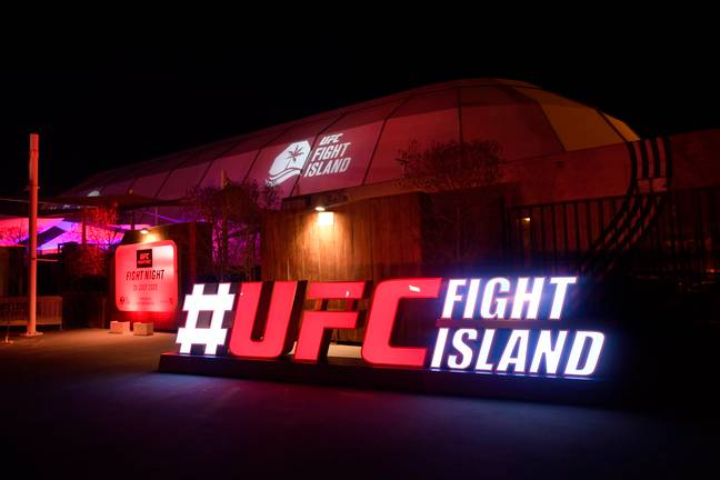 Fight Island has played host to White and UFC for the past two weeks. Image: PA Images
