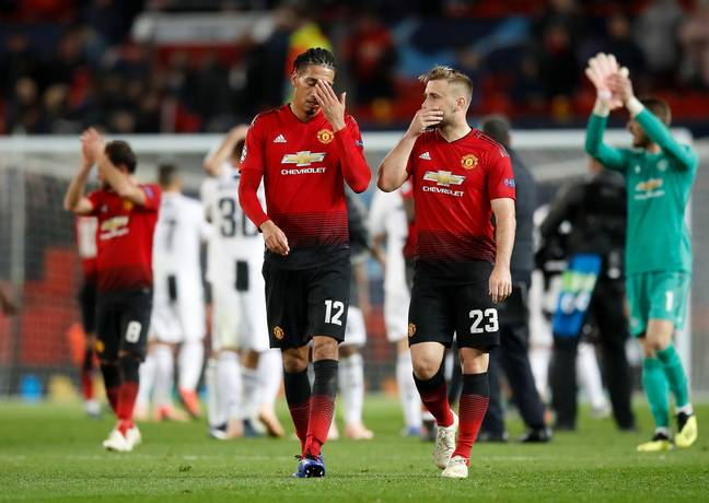 United were out played at home against Juventus and Solskjaer thought the full backs were the problem. Image: PA Images